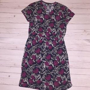 Banana republic sinched waistline floral dress